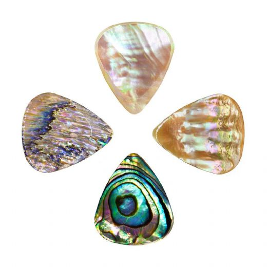 Abalone Tones Mixed Pack of 4 Guitar Picks